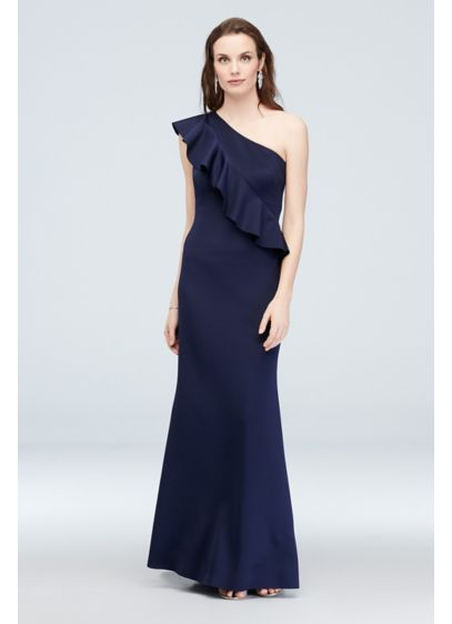 Long Sheath One Shoulder Formal Dresses Dress - Jessica Howard