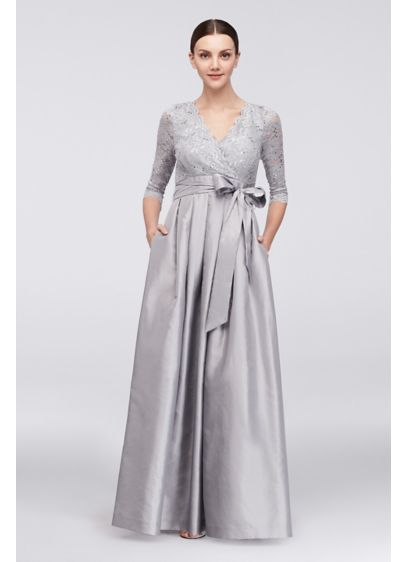 Long Ballgown 3/4 Sleeves Cocktail and Party Dress -