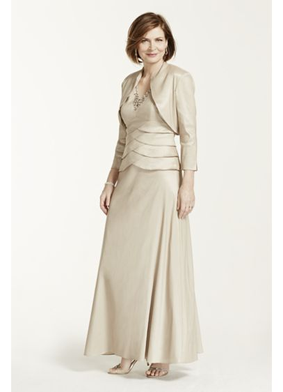 Long Sheath Jacket Cocktail and Party Dress - Jessica Howard