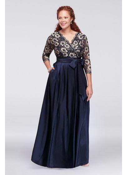 Long Ballgown 3/4 Sleeves Formal Dresses Dress -