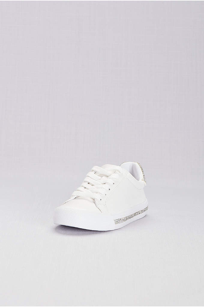 Jessica Simpson Sneakers - A glitter-dusted heel and platform give these comfy-chic