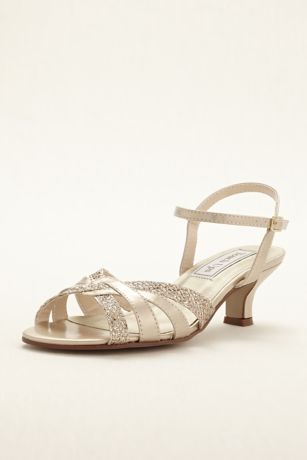 Touch Ups Blue;Grey;Ivory Heeled Sandals (Jane Sandal by Touch Ups)