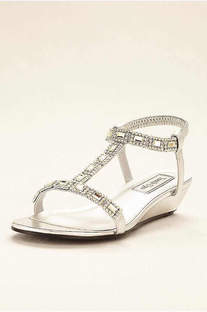 Touch Ups Jazz Wedge Sandal - Channel your inner Grecian goddess in these stunning