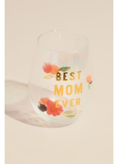 Best Mom Ever Ombre Stemless Wine Glass - Wedding Gifts & Decorations