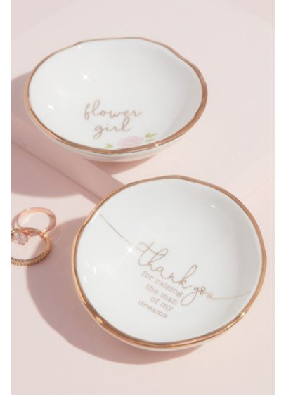 Thank You For The Man Of My Dreams Ring Dish - Wedding Gifts & Decorations