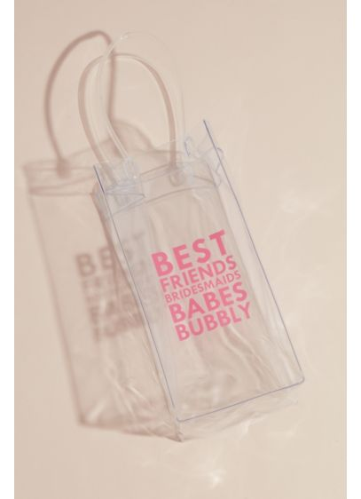Best Friends Bridesmaids Babes Bubbly Wine Bag - Give your BFFs the gift of portable bubbly!