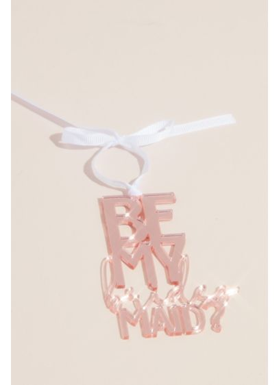 Be My Bridesmaid Wine Bottle Tag - Wedding Gifts & Decorations