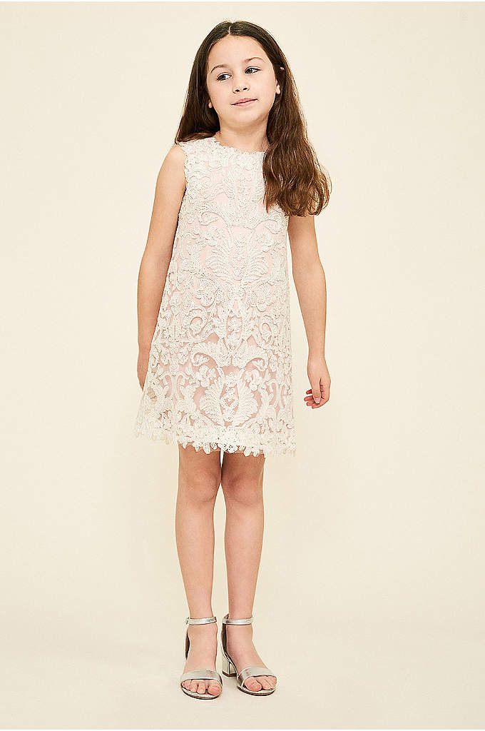 Honeysuckle Flower Girl Dress - Your flower girl will love this shimmery shift
