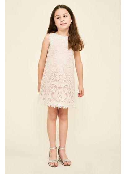 Honeysuckle Flower Girl Dress - Your flower girl will love this shimmery shift