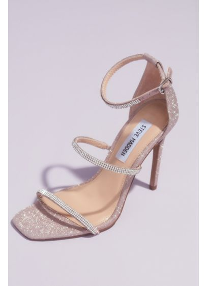 Crystal Strap Stiletto Sandals - Wowza! These sky-high stilettos make a statement with
