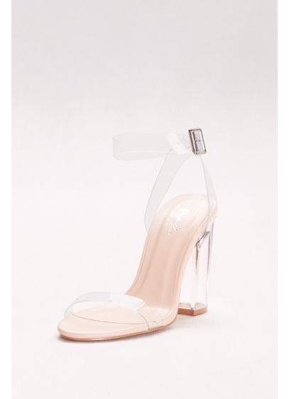 Qupid 0 (Strappy Lucite Heels)