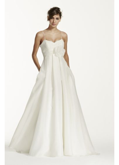 Long Ballgown Romantic Wedding Dress - Galina