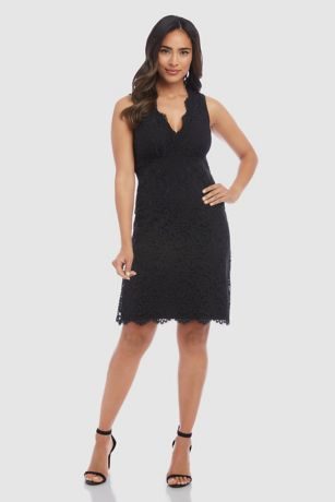 Short A-Line Tank Dress - Karen Kane