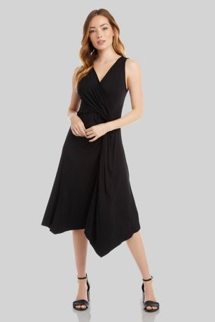 Tea Length Tank Dress - Karen Kane