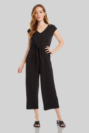 Jumpsuit Cap Sleeves Dress - Karen Kane