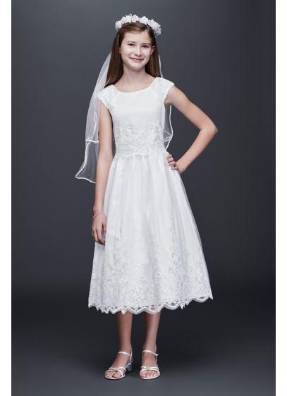 Short A-Line Cap Sleeves Dress - US Angels