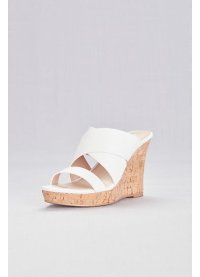 Slip Cork Sandalsdavid's Wide On Bridal 8okp0nwx Wedge Strap bf7v6Ygy
