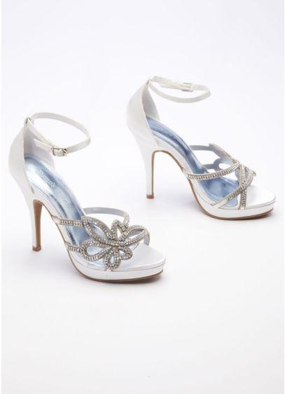 Ivory (High Heel Sandal with Chain)