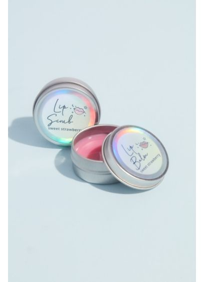 Lavender Stardust Lip Balm and Scrub Set - Treat your lips (or give an awesome gift!)