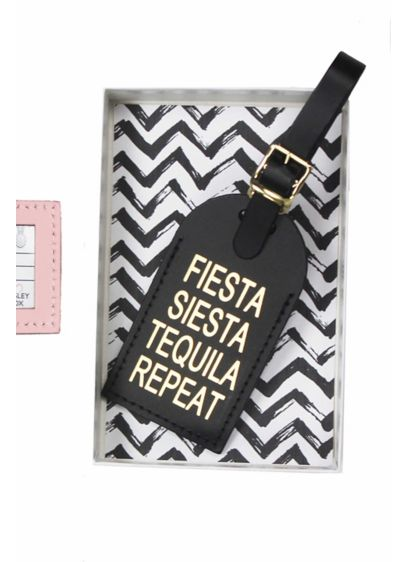 Fiesta Siesta Luggage Tag - Wedding Gifts & Decorations