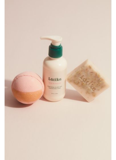 Latika Milk and Honey Bath Set - The ultimate self-care indulgence to gift and get,
