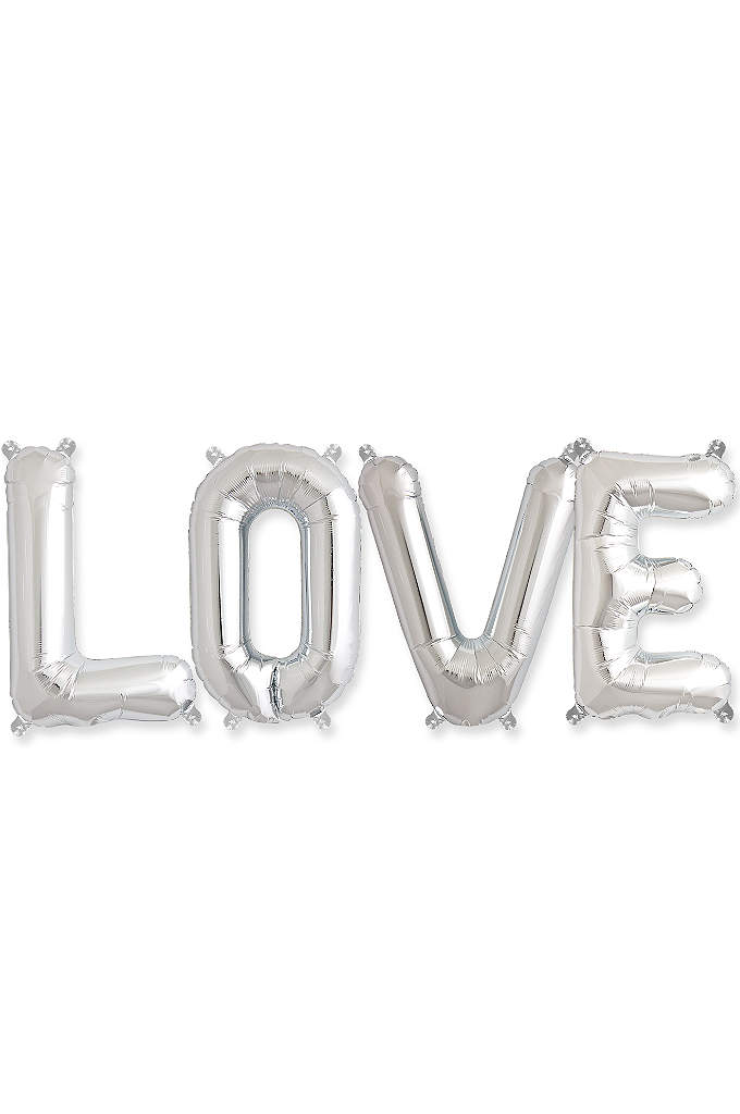 Love 16 Inch Balloon Kit - Let love shine through at your reception, bridal