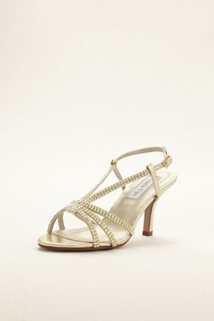 Touch Ups Grey;Yellow Heeled Sandals (Lyric Sandal by Touch Ups)