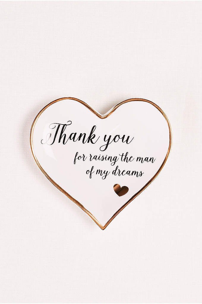 Mother of the Groom Ring Dish - How do you thank the woman who raised