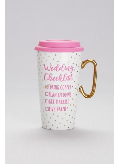 Pink (Wedding Checklist Coffee Mug)
