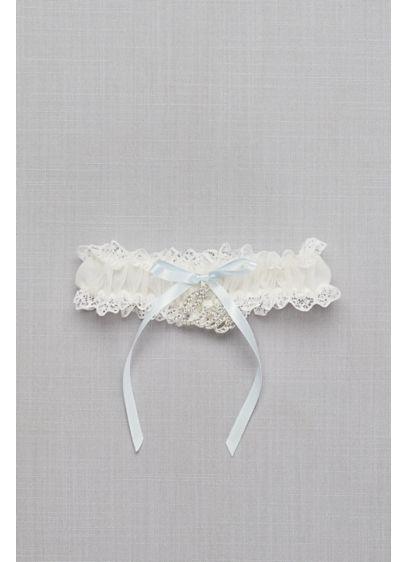 I Do Charm Garter - Wedding Accessories