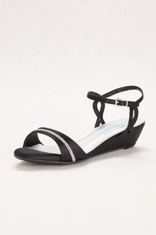 Touch Ups Beige;Black;Grey Heeled Sandals (Touch Ups Mallory Wedge Comfort Sandal)