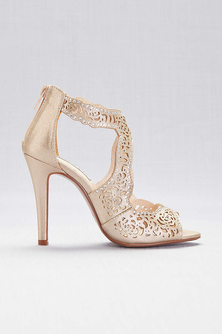 2d68632ed0f95 Champagne Shoes: Heels, Flats and Sandals in Champage Gold | David's ...