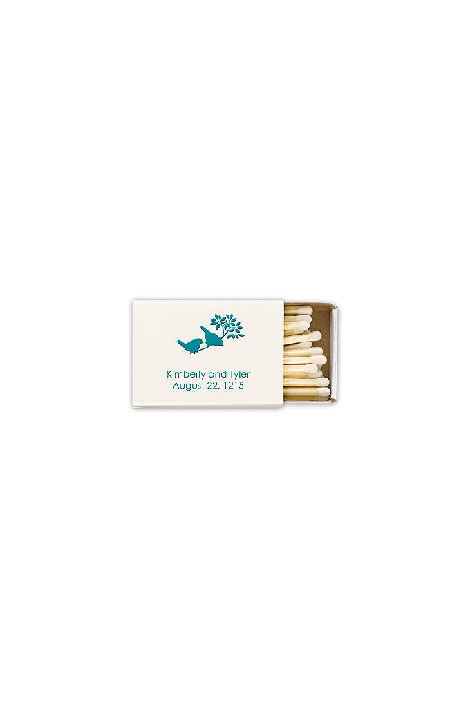 Personalized Match Box with Design - Add a personal touch to your wedding reception
