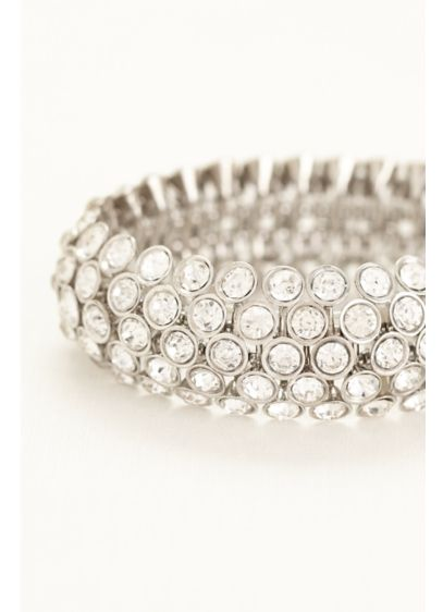 Stretch Crystal Bauble Bracelet - Wedding Accessories