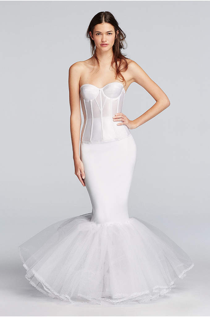 Extreme Mermaid Silhouette Slip - This pull-on slip features a high waist and