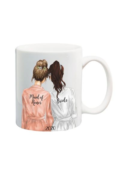 Maid of Honor Mug - This mug makes a sweet keepsake gift for