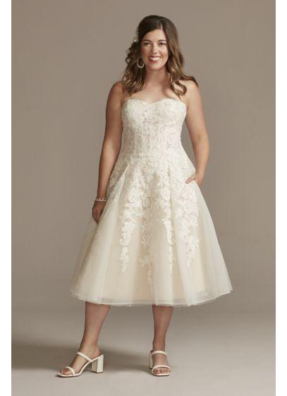 Midi Ballgown Wedding Dress - David's Bridal