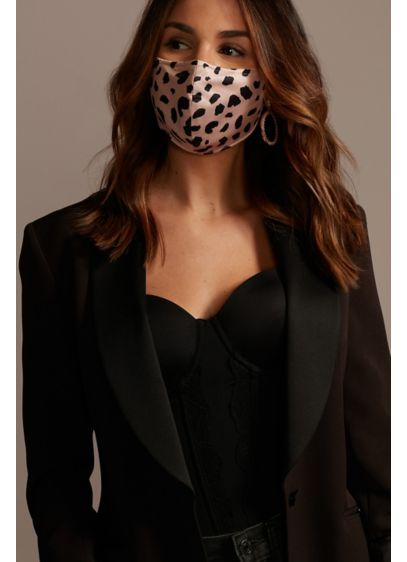 Chic Spot Face Mask with Adjustable Ear Loops - Spotted: an ultra-chic way to promote safe social