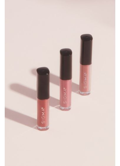 Sigma Beauty Satin Matte Mini Liquid Lipstick Trio - Make your makeup pop with any of the
