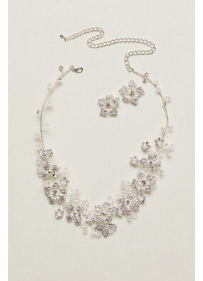 Hand Wired All Crystal Pave Set - Wedding Accessories