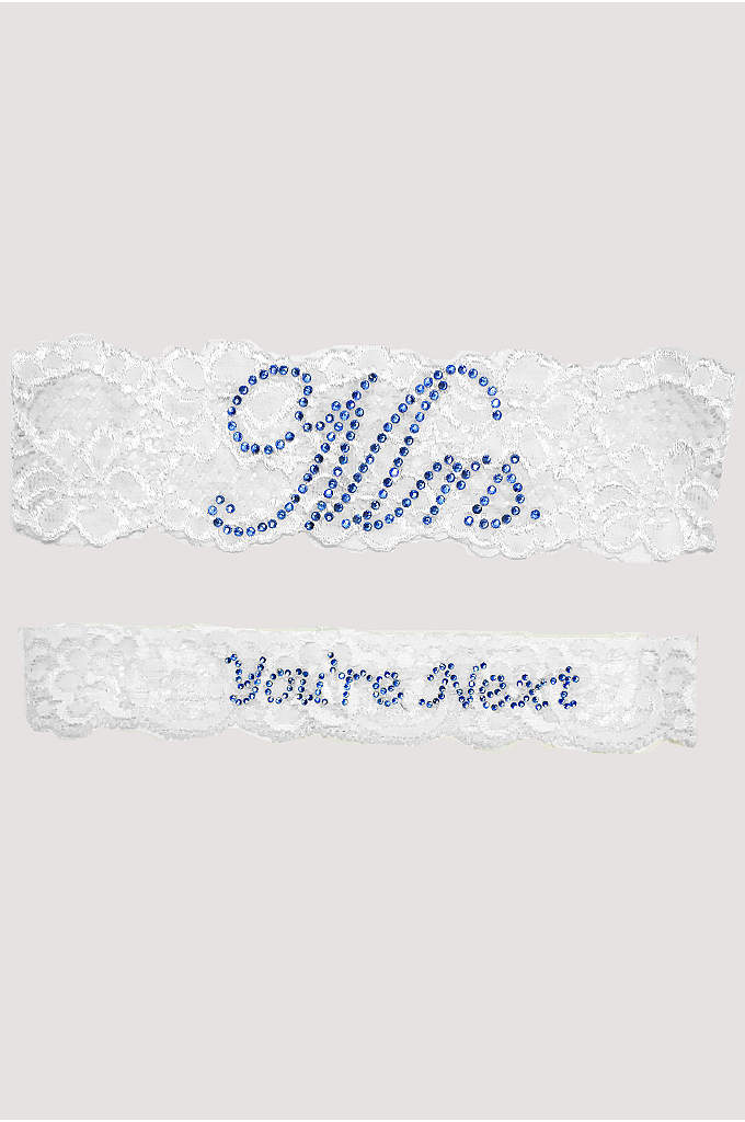 Mrs and You're Next Garter Set - This exquisite vintage Mrs. and You're Next lace
