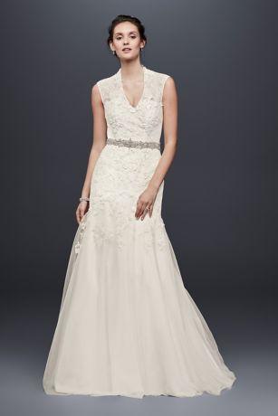 Lace Sleeves Bridesmaid Dress