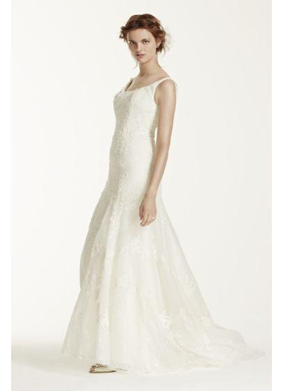 Long Mermaid/ Trumpet Romantic Wedding Dress - Melissa Sweet