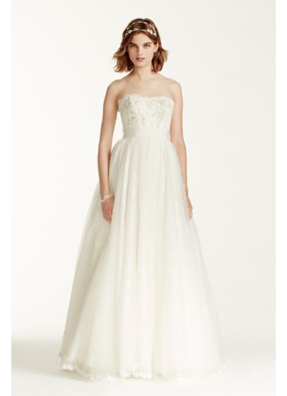 Long Ballgown Modern Wedding Dress - Melissa Sweet