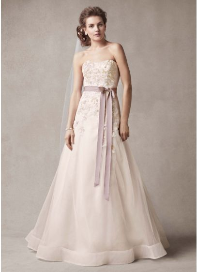 Two Toned Wedding Dresses Ideas