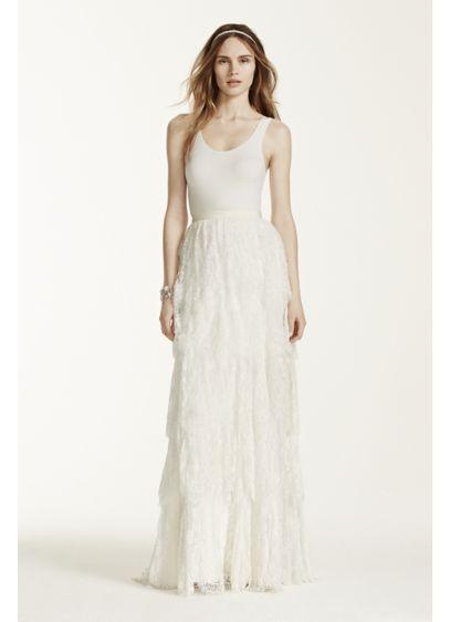 Long Separates Dress Alternatives Wedding Dress - Melissa Sweet