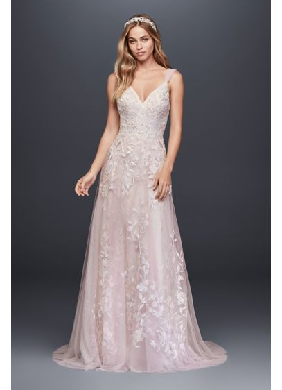 Erfly Liqued Tulle A Line Wedding Dress David S Bridal