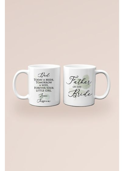 Personalized Father of the Bride Thank You Mug - A father of the bride gift he'll absolutely