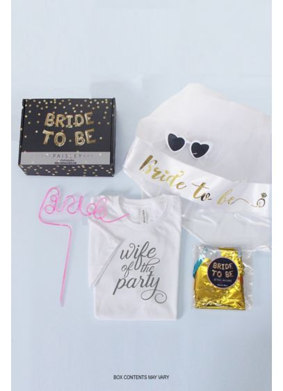 Bachelorette Party Gifts Mystery Box - Make the bachelorette weekend even more unpredictable with