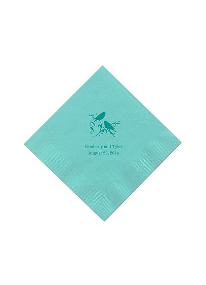 Personalized Design Color Luncheon Napkin - Add a personal touch to your event with
